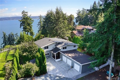 Camano Island Single Family Home For Sale: 2487 Bretland Rd