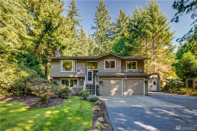 Snohomish Single Family Home For Sale: 20717 78th Ave SE