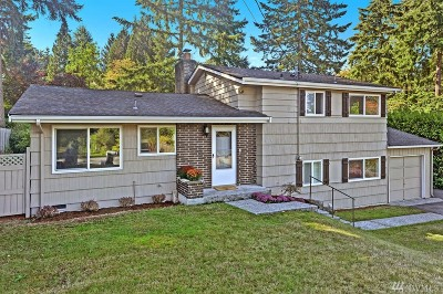 Bellevue Single Family Home For Sale: 14803 SE 45th Place