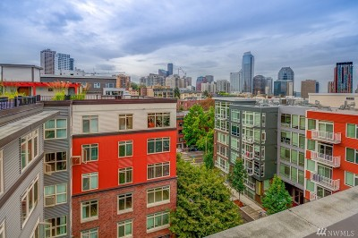 Seattle Condo/Townhouse For Sale: 1610 Belmont Ave #611