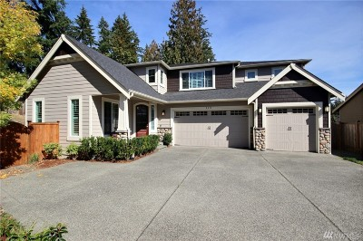 Bothell Single Family Home For Sale: 119 233rd Place SE