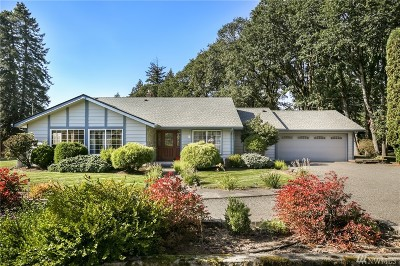 Tenino Single Family Home For Sale: 7506 Skookumchuck Rd SE