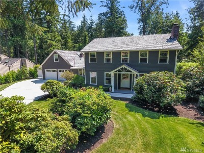 Sammamish Single Family Home For Sale: 2213 Sahalee Dr W