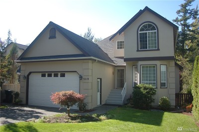 Bellingham Single Family Home For Sale: 3219 Sylvan St