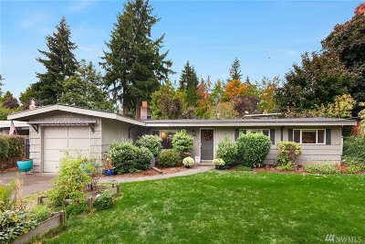 Bellevue Single Family Home For Sale: 15650 SE 9th St