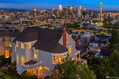 Seattle Single Family Home For Sale: 153 Highland Dr
