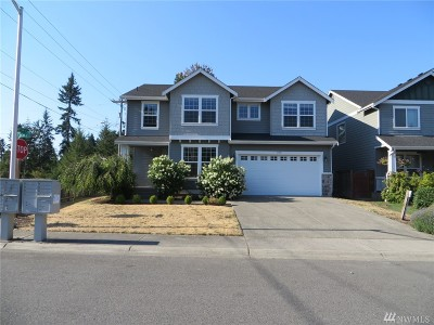 Spanaway Single Family Home For Sale: 4601 204th St Ct E