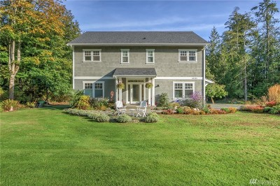 Hansville Single Family Home For Sale: 39205 Blackmouth Place NE