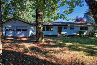 Shelton Single Family Home For Sale: 1 E Cherry Park