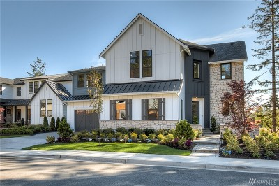 Sammamish Single Family Home For Sale: 812 245th Place NE #Lot11