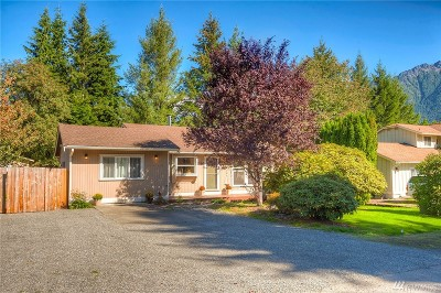 North Bend WA Single Family Home For Sale: $450,000