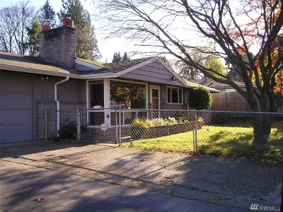 Seattle Single Family Home For Sale: 10640 Rustic Rd S