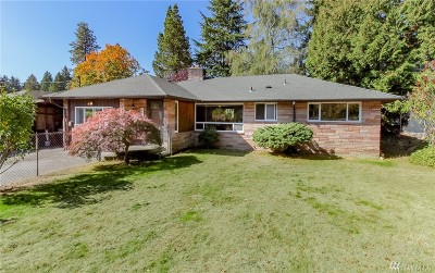 Burien Single Family Home For Sale: 14223 2nd Ave SW