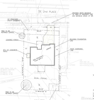 Renton Residential Lots & Land For Sale: 6515 SE 2nd Place