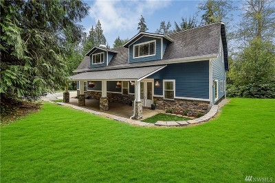 Snohomish Single Family Home For Sale: 15310 Utley Rd