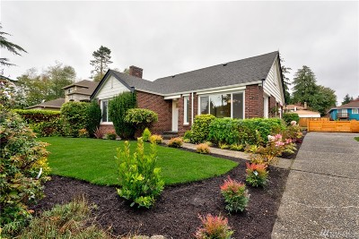 Seattle Single Family Home For Sale: 11722 3rd Ave NW