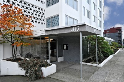 Condo/Townhouse Sold: 415 W Mercer St #201