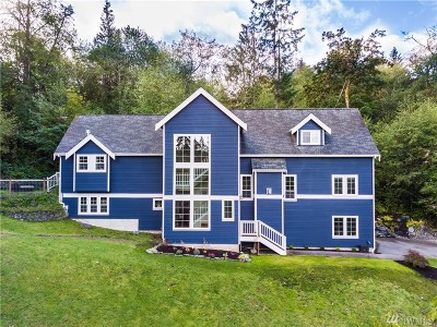 Gig Harbor Single Family Home For Sale: 1604 151st St Ct NW