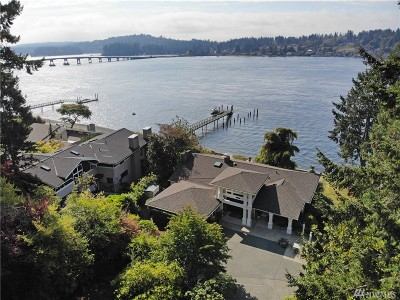 Gig Harbor Single Family Home For Sale: 8520 Warren Dr NW