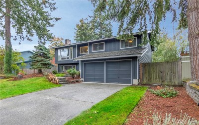 Woodinville Single Family Home For Sale: 12513 NE 148th St