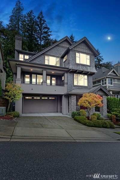 Issaquah Single Family Home For Sale: 833 Summerhill Ridge Dr NW
