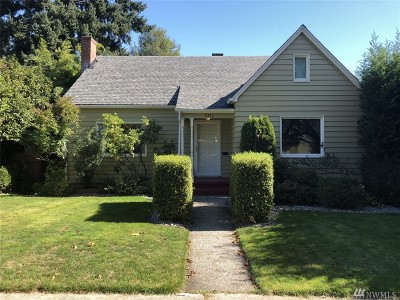 Tacoma Single Family Home For Sale: 2531 S L St