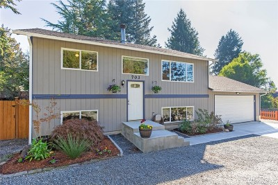 Snohomish Single Family Home For Sale: 703 10th St