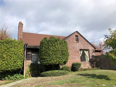 Tacoma Single Family Home For Sale: 901 N Washington St