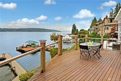 Bellevue Single Family Home For Sale: 838 W Lake Sammamish Pkwy SE