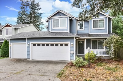 Tacoma Single Family Home For Sale: 2326 179th St Ct E
