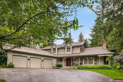 Woodinville Single Family Home For Sale: 17027 NE 160th Ct