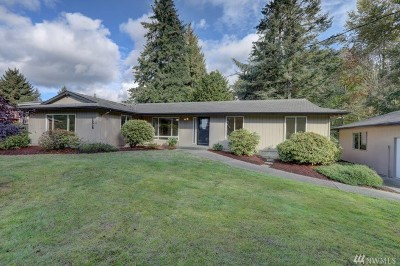 Renton Single Family Home For Sale: 16930 SE 142 St