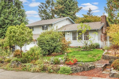 Bellevue Single Family Home For Sale: 12324 SE 64th Place