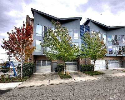 Tacoma Condo/Townhouse For Sale: 2520 Jefferson Ave #G