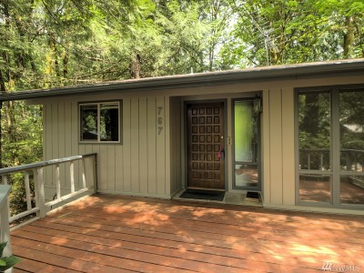 Single Family Home For Sale: 767 E Promontory Rd