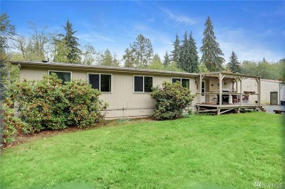 Snohomish Single Family Home For Sale: 18914 48th St NE