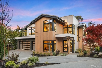 Mercer Island Single Family Home For Sale: 8240 SE 31st St