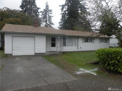 Tacoma Single Family Home For Sale: 1021 124th St S