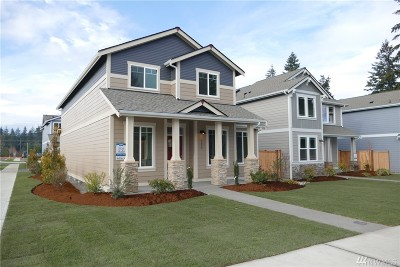 Tumwater Single Family Home For Sale: 6225 Courtyard Lane SW #Lot6