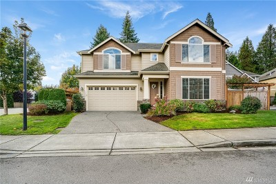 Woodinville Single Family Home For Sale: 13585 202nd St