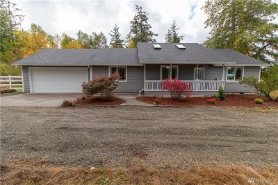 Yelm Single Family Home For Sale: 13030 Vail Rd SE