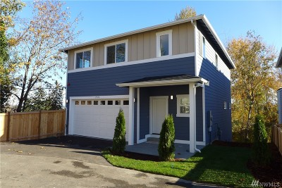 Burien Single Family Home For Sale: 2720 S 120th Place