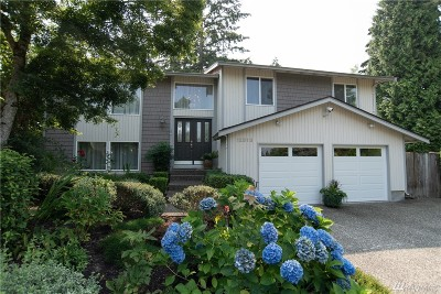 Bothell Single Family Home For Sale: 12313 NE 162nd St