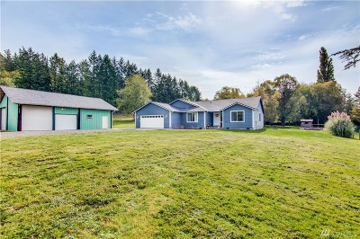Port Orchard Single Family Home For Sale: 14405 Clayton Rd SE