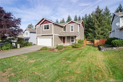 Orting Single Family Home Contingent: 19507 207th St Ct E