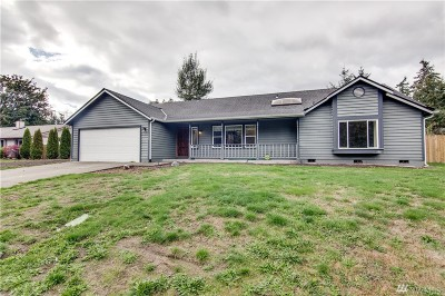Spanaway Single Family Home For Sale: 1722 150th St S