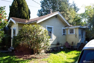 Bellingham Single Family Home For Sale: 1413 Illinois St