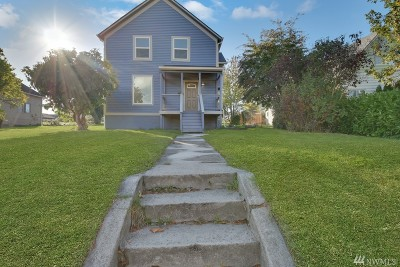 Single Family Home For Sale: 4612 S K St