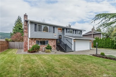 Sedro Woolley Single Family Home Contingent: 1007 Sterling St