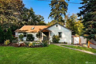 Kenmore Single Family Home For Sale: 15817 81st Ave NE